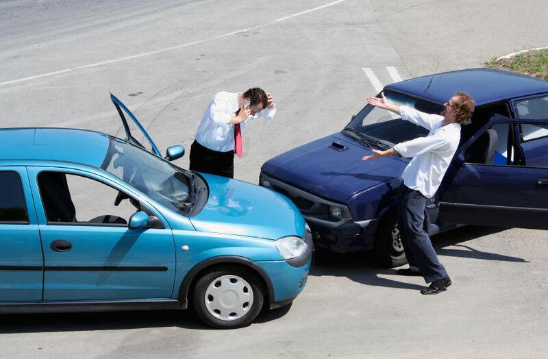 Įvykus avarijai, svarbiausia netyčia netapti jos kaltininku