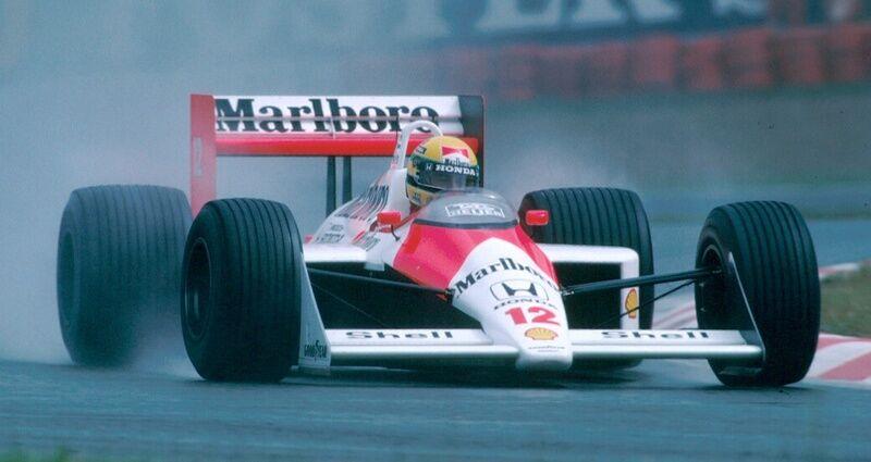 """Ayrtonas Senna – """"Formulės 1"""" ir Monako legenda"""