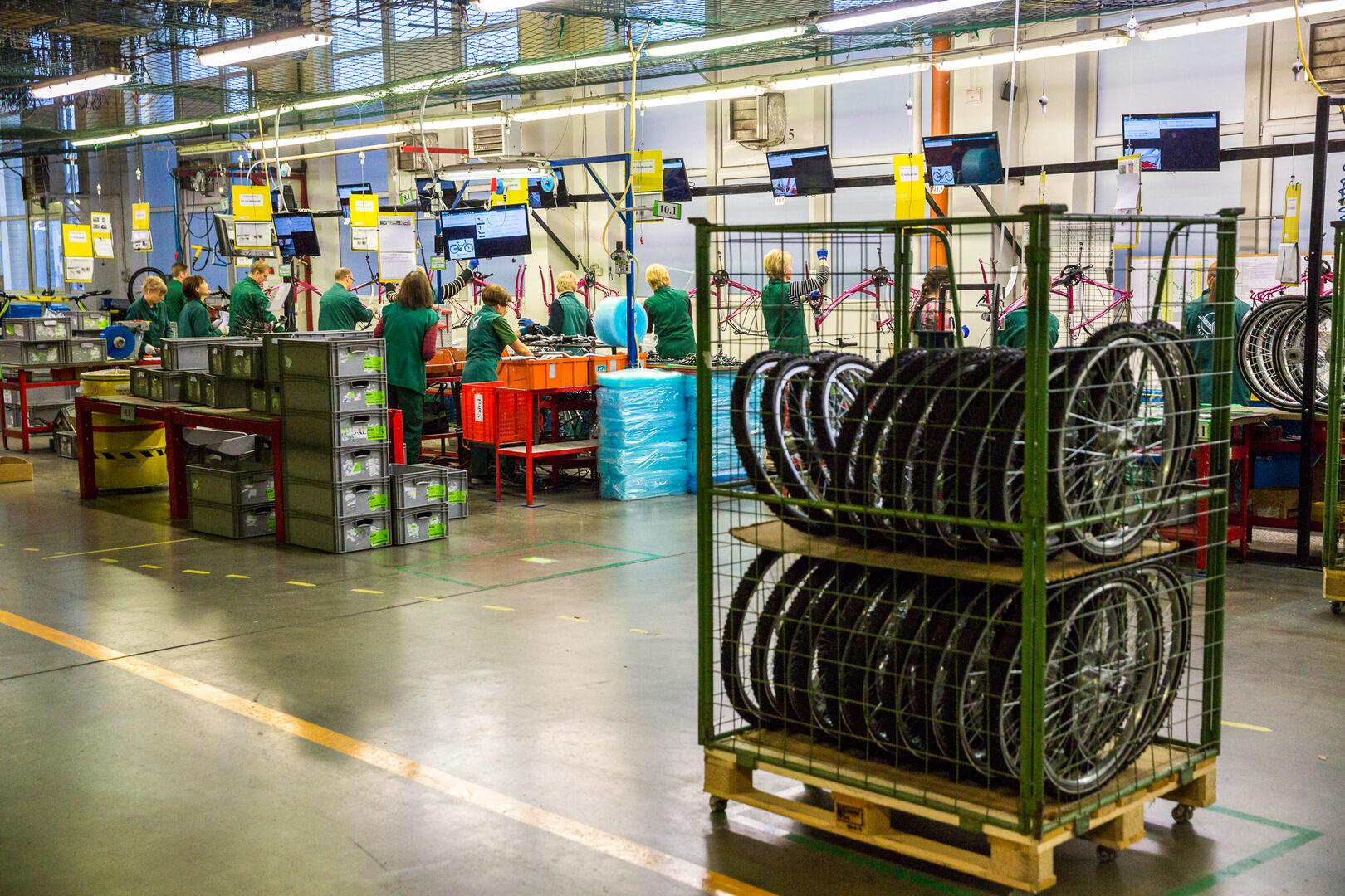 Ar žinote, kad didžiausia dviračių gamintoja Šiaurės Europoje yra... Lietuvoje