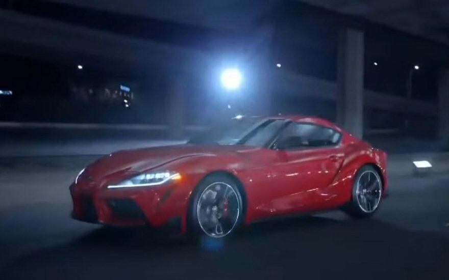 """""""Toyota Supra"""" gerbėjai džiūgauja: netyčia parodė, kaip iš tiesų atrodys naujas """"Toyota Supra"""" modelis"""