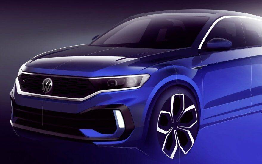 """""""Volkswagen"""" pristatys naują visureigių linijos flagmaną - išskirtiniai pajėgumai ir daug žadanti išorė"""