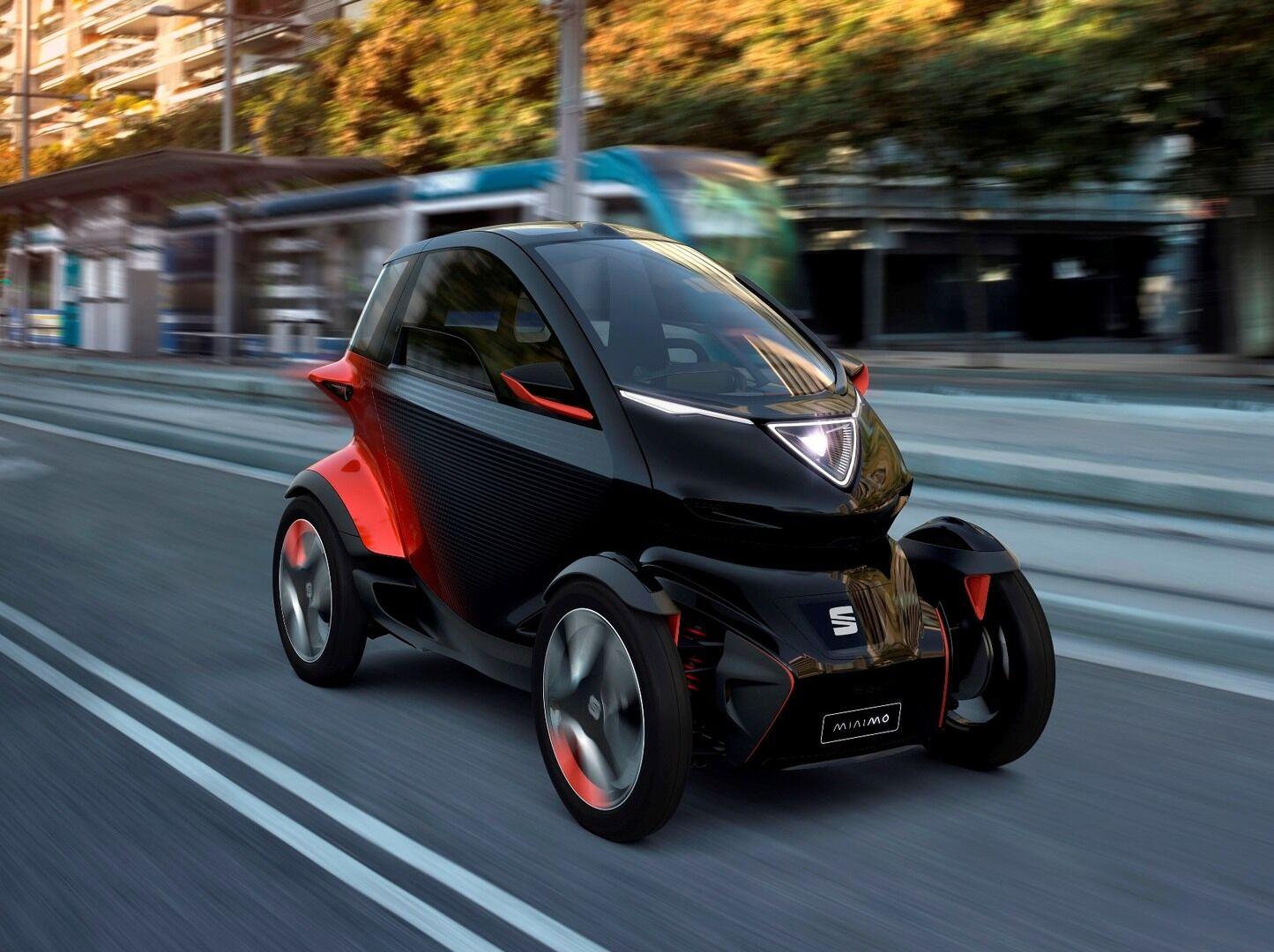 """SEAT pristatė """"Minimó"""" - mažytis elektrinis automobilis yra kur kas įdomesnis nei galite pagalvoti"""