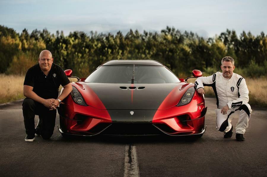 """Pasitrauk į šalį, """"Chiron"""" - """"Koenigsegg"""" pagerino 0-400-0 km/val. rekordą"""