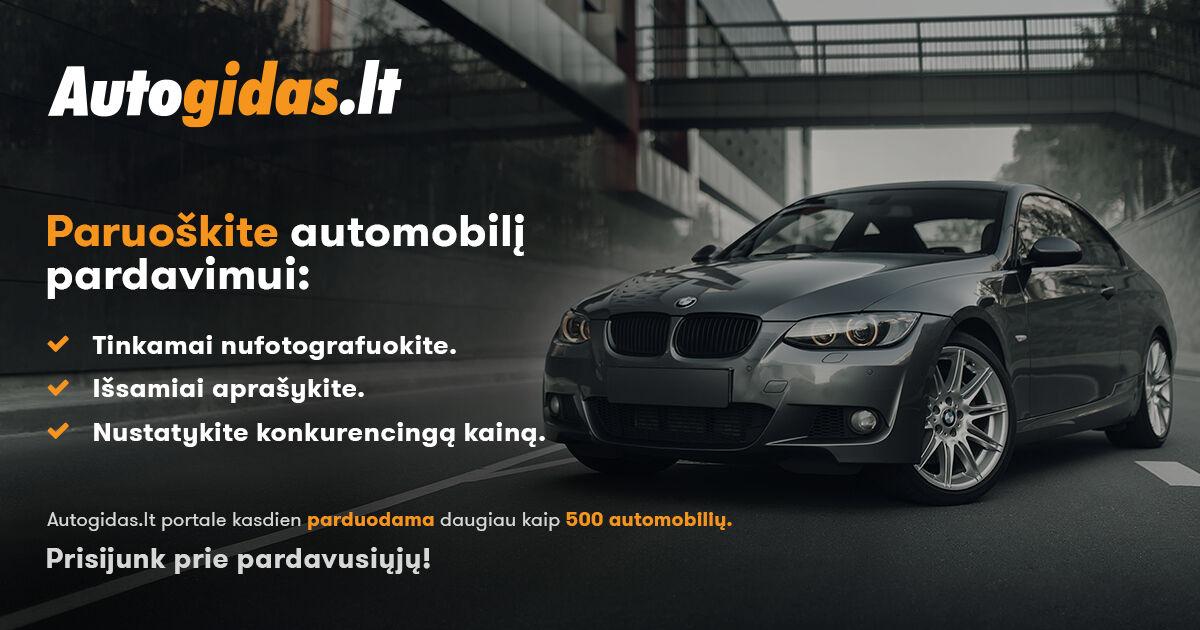 Paruoškite automobilį pardavimui