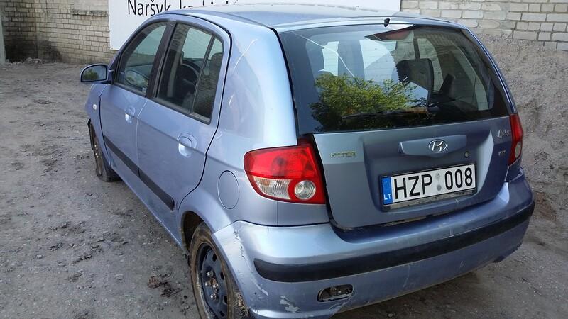 Hyundai Getz 2005 m dalys