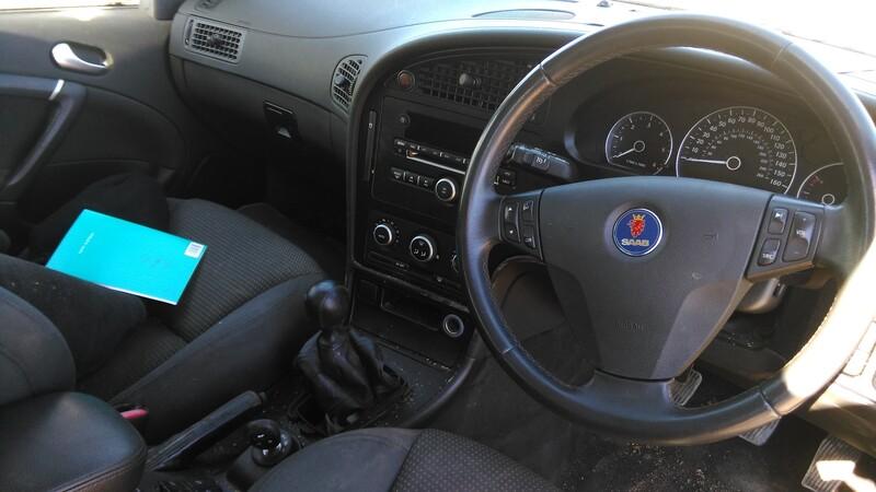 Saab 9-5 2009 y. parts