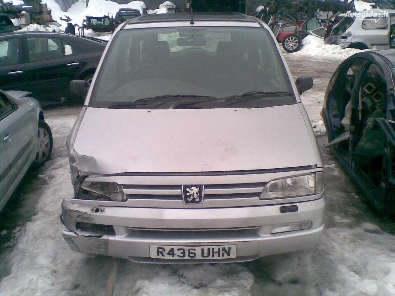 Peugeot 806 2001 m dalys