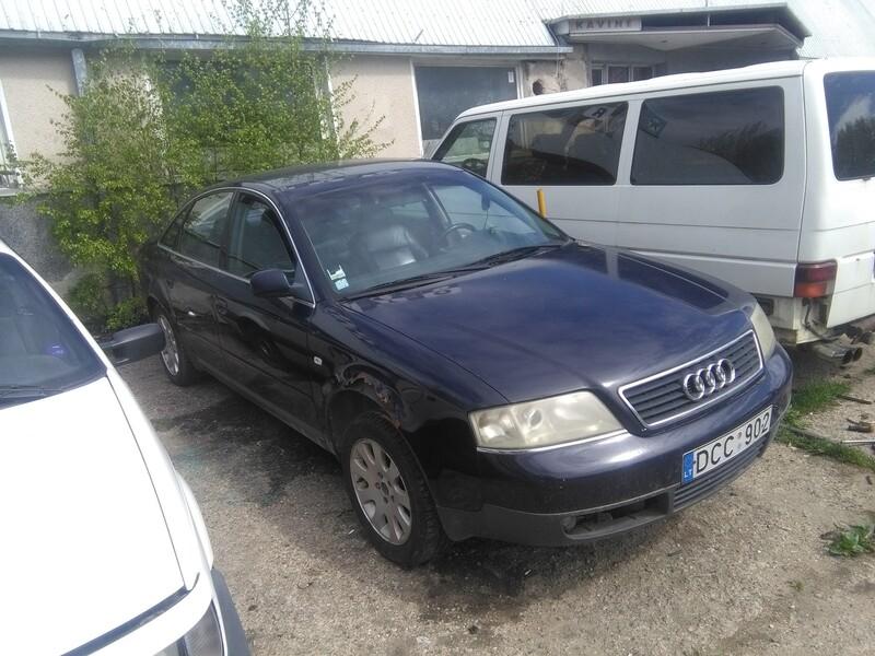 Audi A6 C5 2.4 europa 1999 m. dalys