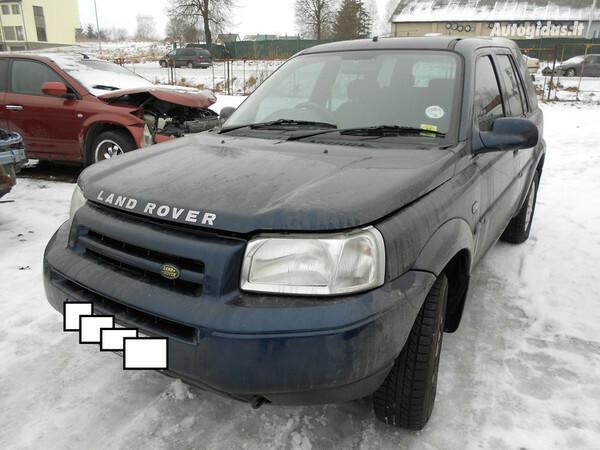 Land-Rover Freelander I 2002 y. parts
