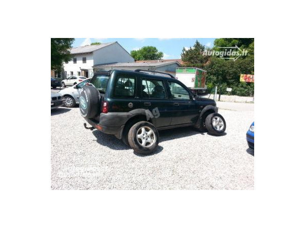 Land-Rover Freelander I 2001 y. parts