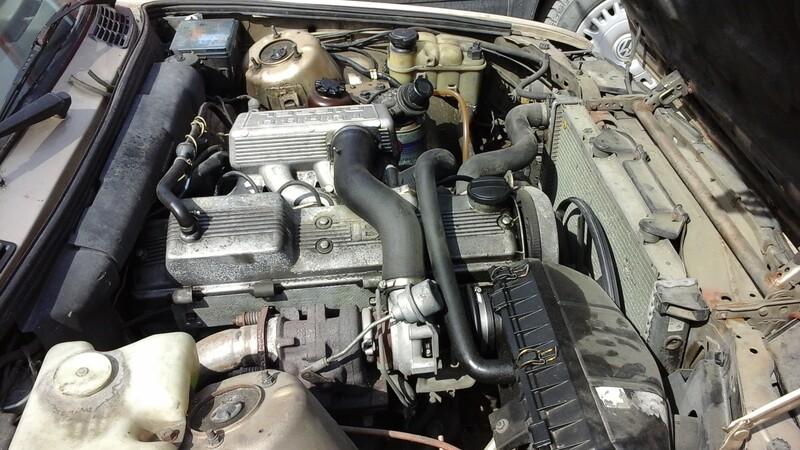 Bmw 324 E30 Td 1990 m. dalys