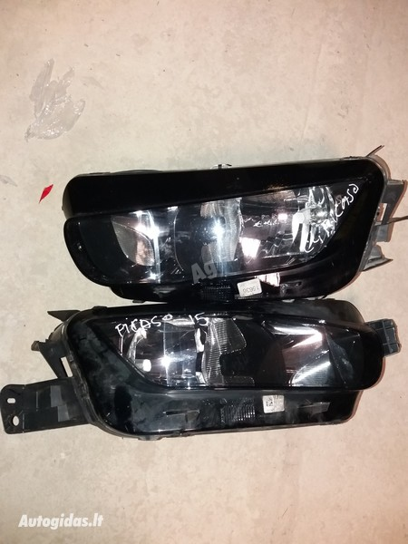 Citroen C4 Picasso II 2014 y. parts
