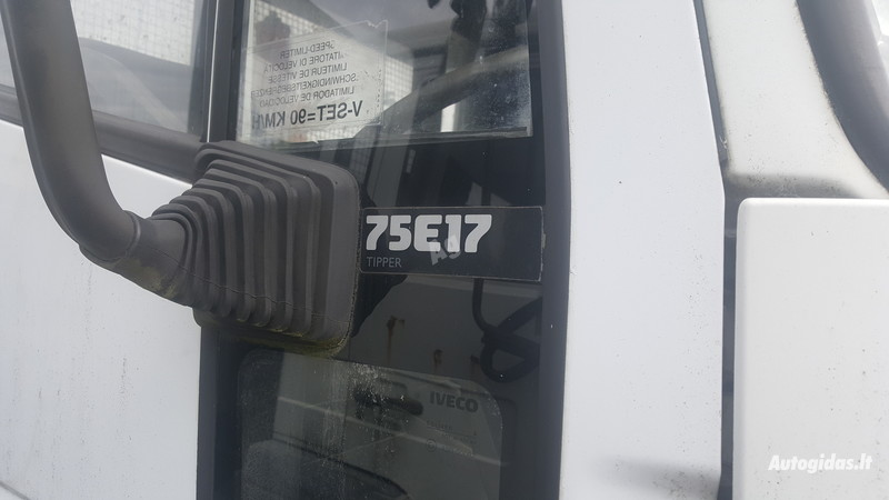 Furgonas, sunkvežimis iki 7,5t. Iveco 75e17 2008 m. dalys