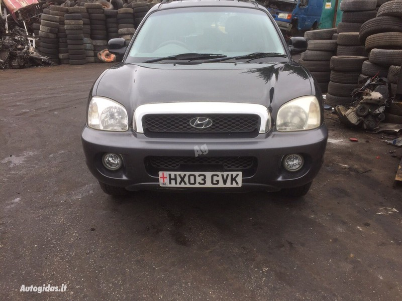 Hyundai Santa Fe 2002 y parts