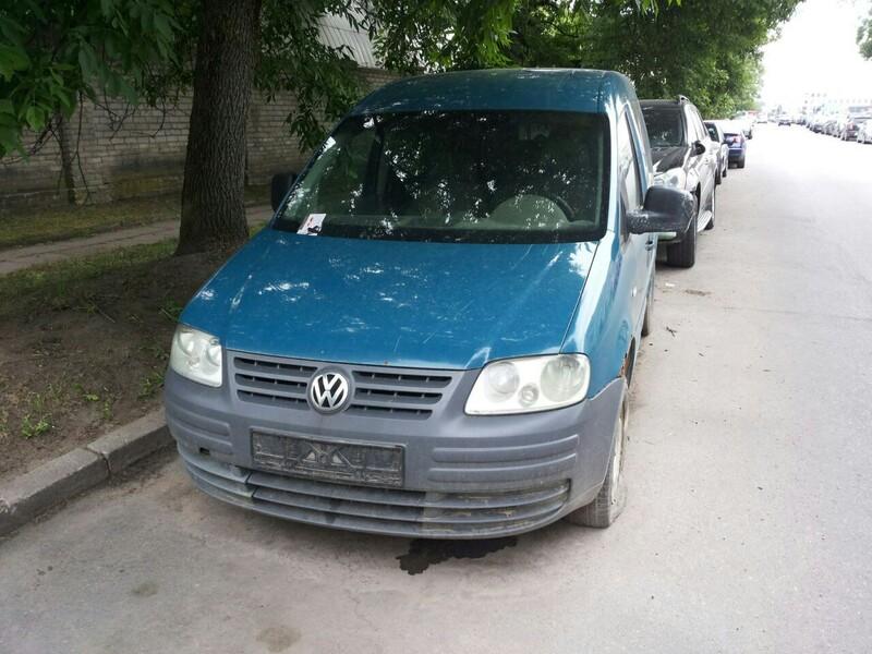 Volkswagen Caddy III 2005 y parts
