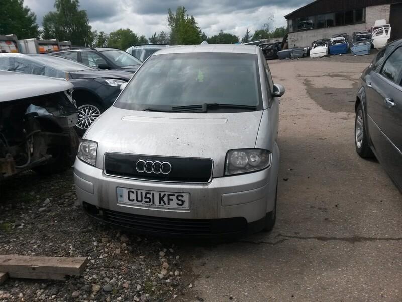 Audi A2 2001 m. dalys
