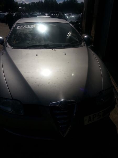 Alfa Romeo Gt 2007 m dalys