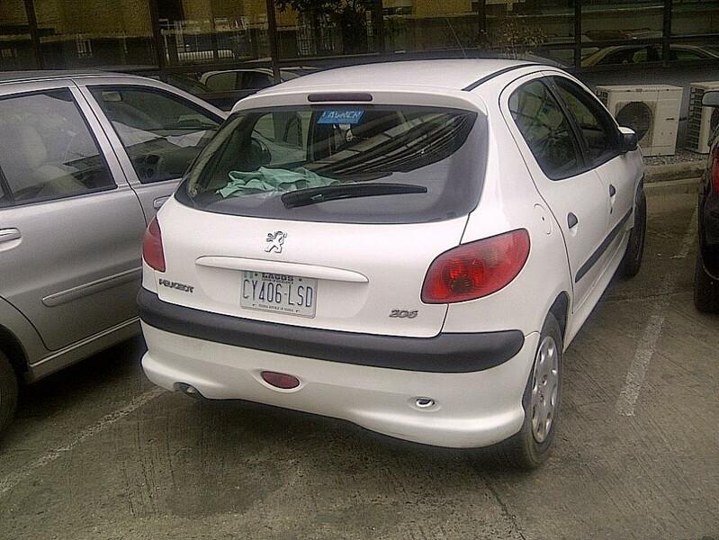 Peugeot 206 2005 y. parts