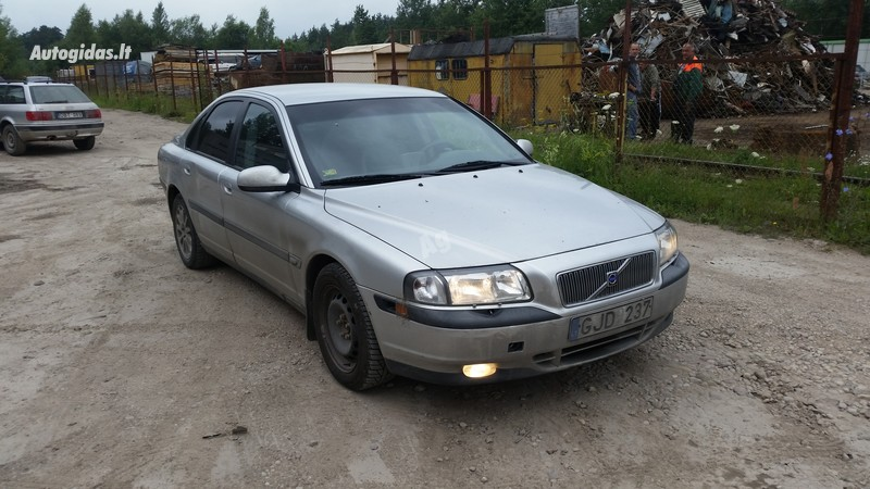 Volvo S80 I 2001 m dalys