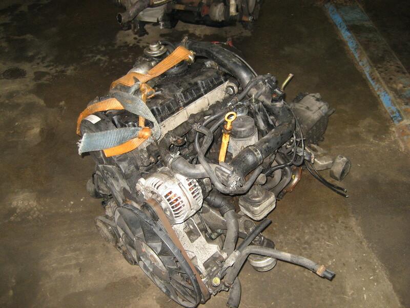 Volkswagen Passat B5 FL 2002 y. parts