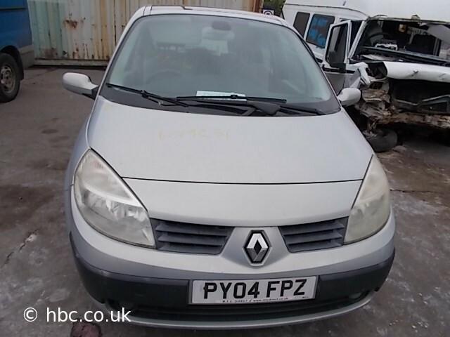 Renault Scenic II 2004 y parts