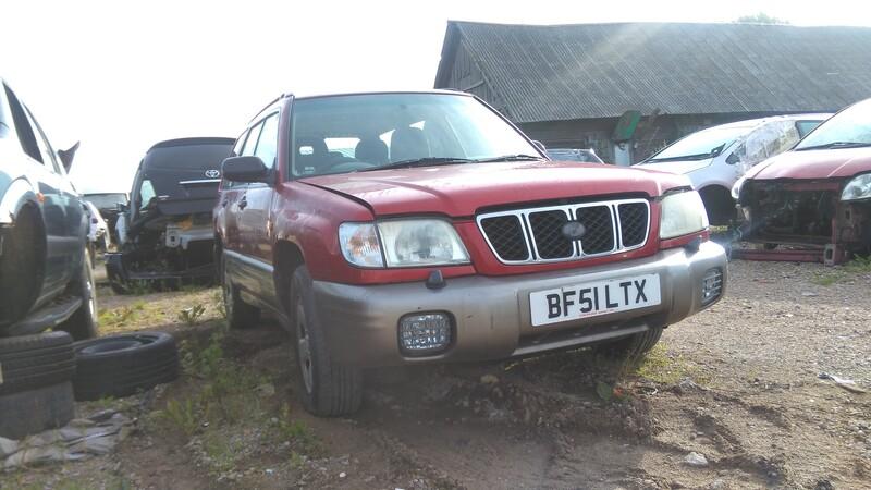 Subaru Forester I 2001 y. parts