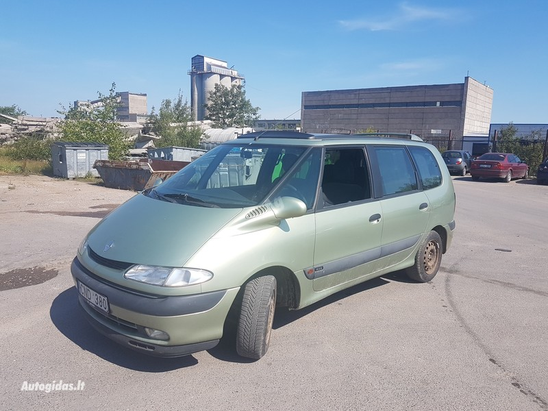 Renault Espace III 2.0 BENZINAS 103 KW 1999 m dalys