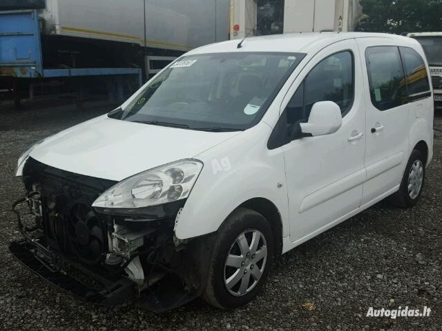 Peugeot Partner II (2008- ) 2010 m dalys