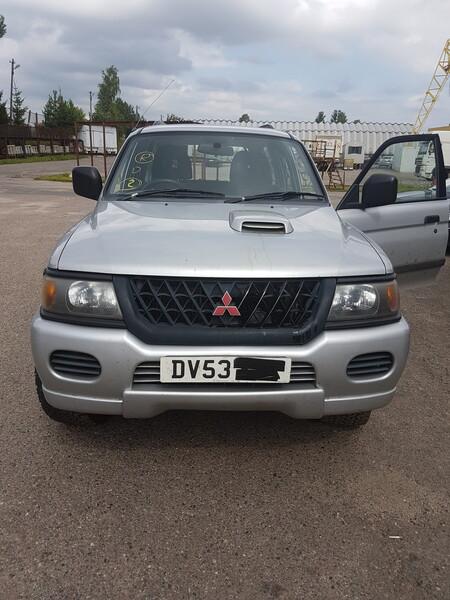 Mitsubishi Pajero Sport III 2005 m dalys