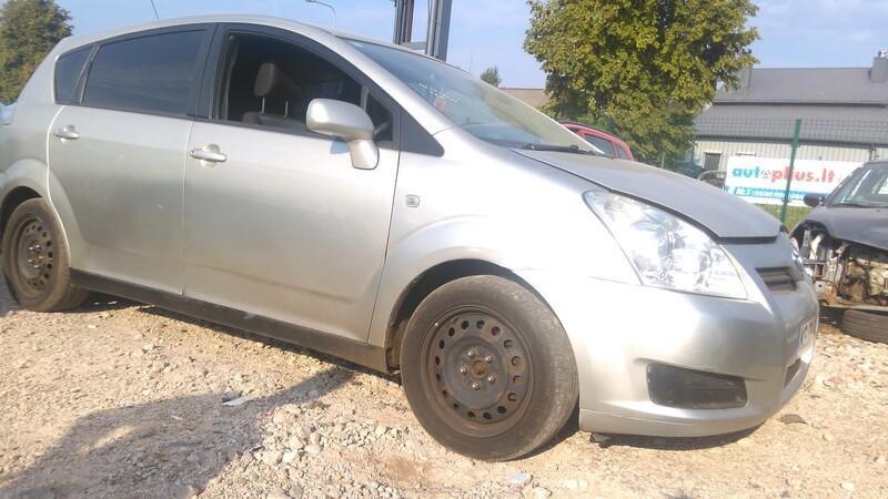 Toyota Corolla Verso 2009 m. dalys