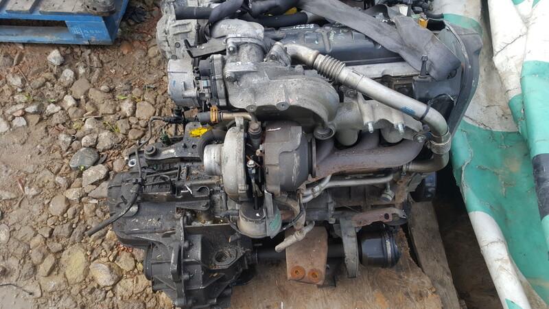 Renault Grand Scenic dci 2006 m dalys