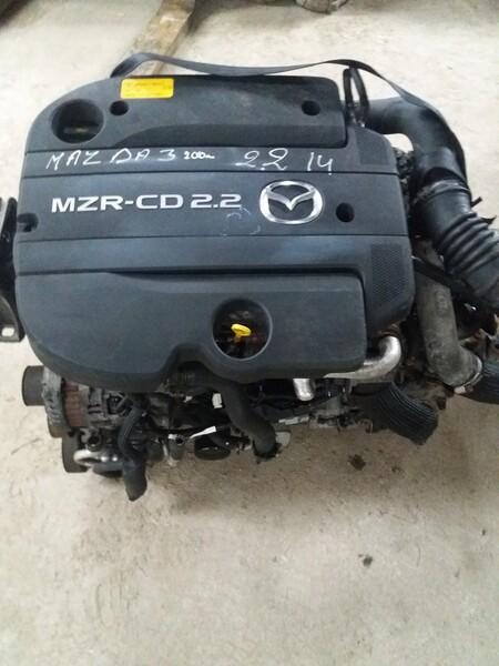 Mazda 3 II 2010 m dalys