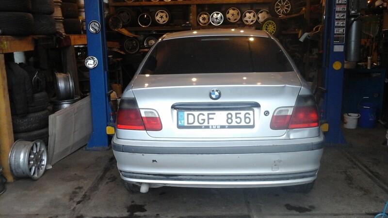 Bmw 320 E36 D 1998 m. dalys