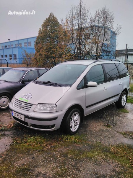 Volkswagen Sharan I TDI 85 kw. 2002 y parts