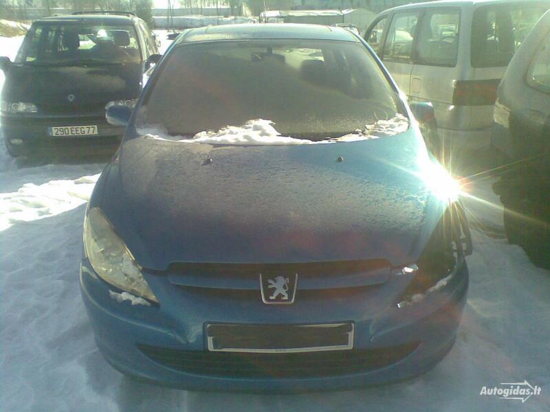 Peugeot 307 2002 m dalys