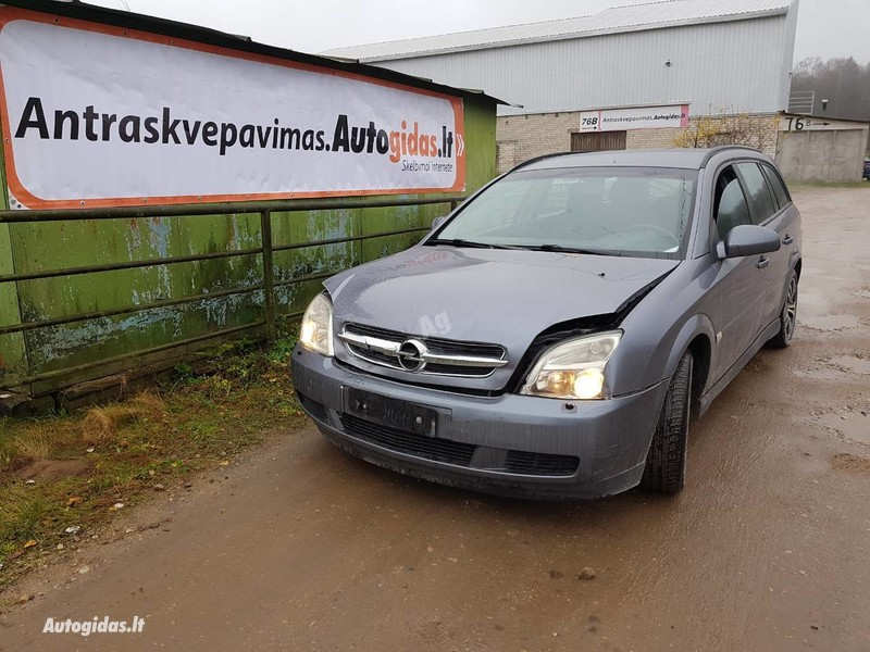 Opel Vectra C europa dyzelis 2004 m dalys