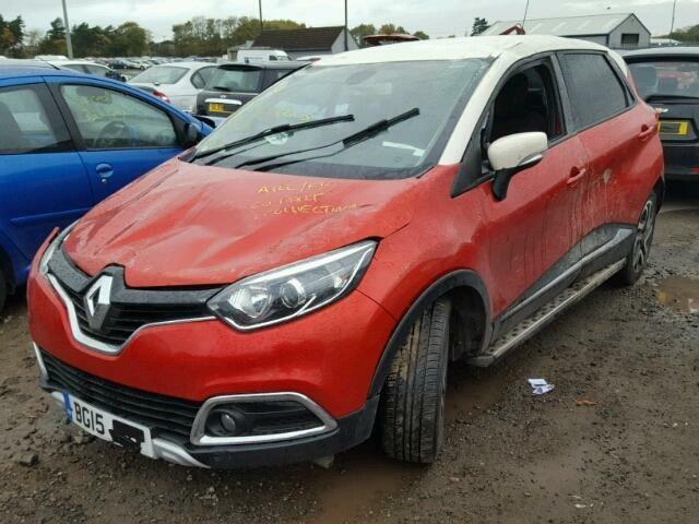 Renault Captur 2015 г. запчясти