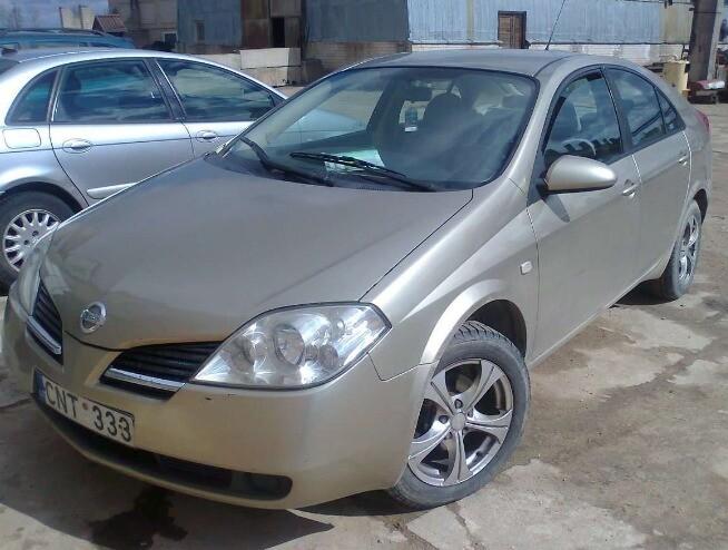 Nissan Primera P12 2005 m dalys