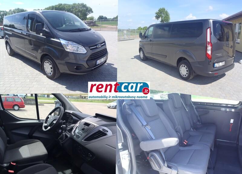 Ford Transit Custom 2017 y rent