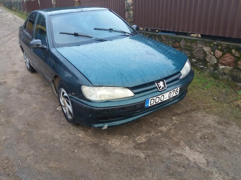 Peugeot 406 1996 m. dalys