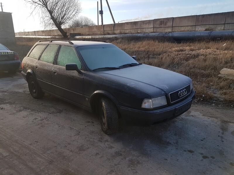 Audi 80 B4 1.9 TDI 66 KW  1995 m dalys