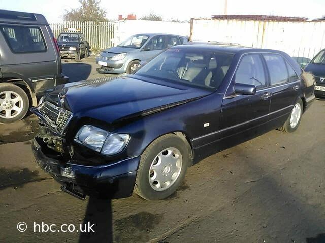 Mercedes-Benz S Klasė 1997 m dalys