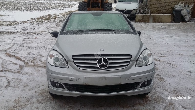 Mercedes-Benz B 200 W245 2007 m dalys