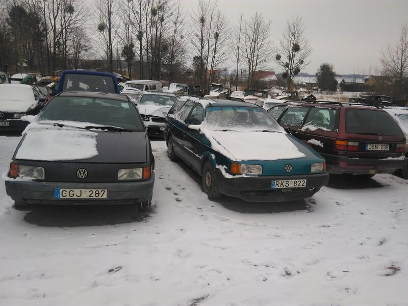 Volkswagen Passat B3 1990 m. dalys