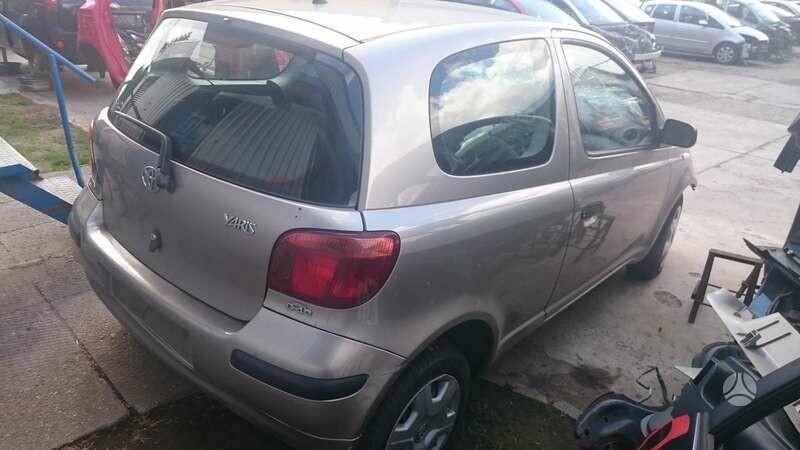 Toyota Yaris I d4d 2004 y parts