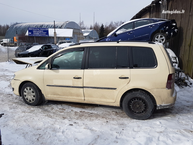 Volkswagen Touran I BLS 2008 m. dalys