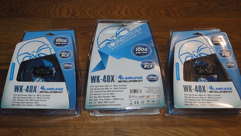 Laidai/Laidų komplektai  Soundstream WK-40X