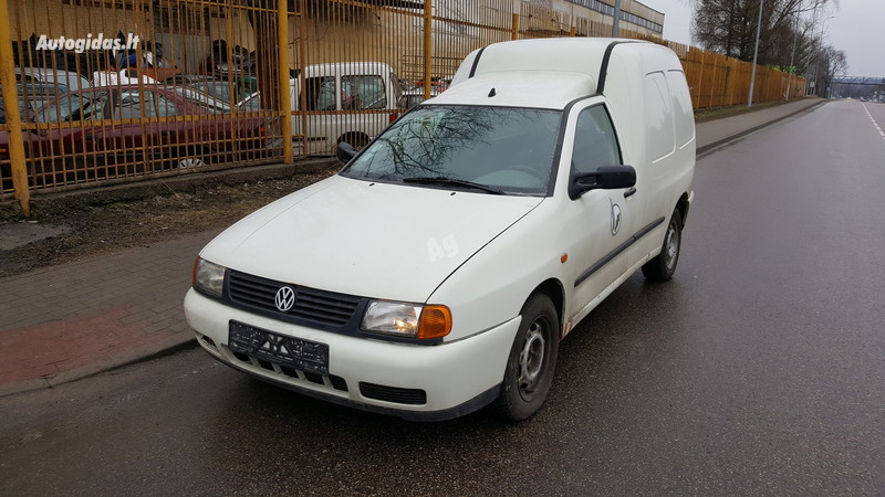 Volkswagen Caddy II 66 kW 2002 m dalys