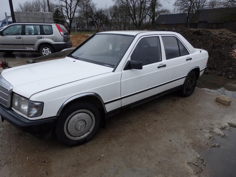 Mercedes-Benz 190 1985 m dalys