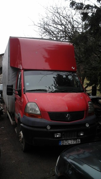 Renault Mascott160.65 su tentu, Furgonas, sunkvežimis iki 7,5t.  Renault mascott 2006 m dalys